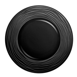 ESCALE CHARGER PLATE 315MM BLK (3/12)
