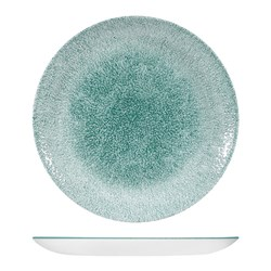 RAKU COUPE PLATE 217MM JADE GREEN (12)