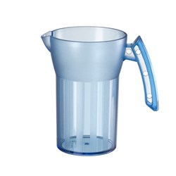 SAINT ROMAIN JUG 500ML BLUE NO LID (8)