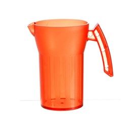 SAINT ROMAIN JUG 500ML ORANGE NO LID (8)