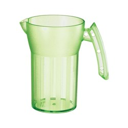 SAINT ROMAIN JUG 500ML GREEN NO LID (8)