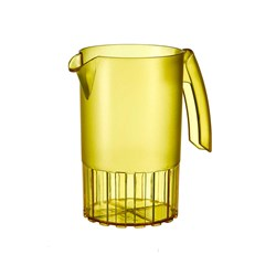 SAINT ROMAIN JUG 1LT YELLOW NO LID (8)