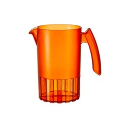 SAINT ROMAIN JUG 1LT ORANGE NO LID (8)