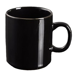 ESSENTIALS MUG CAN BLK 350ML STACK (6/36)