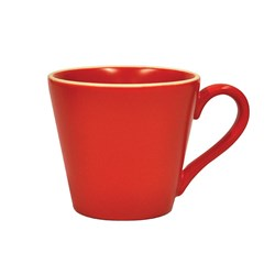 CAFE ESPRESSO CUP RED 80ML (6/48)