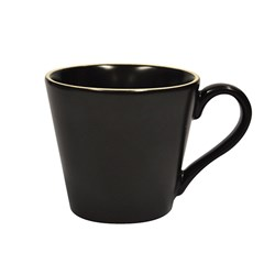 CAFE ESPRESSO CUP BLK 80ML (6/48)