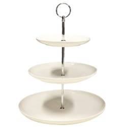 BUFFET ROUND COUPE STAND 3 TIER 165/215/273MM (1/6)