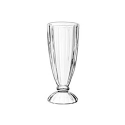 SODA GLASS RIBBED 355ML (24)