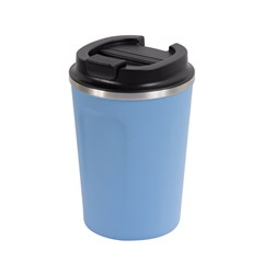 REUSABLE COFFEE CUP 380ML BLU DBL WALL (24)
