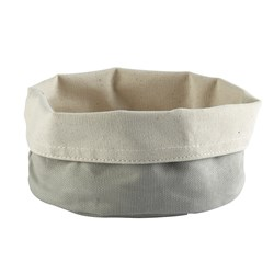 CANVAS BAG 170MM GREY CREAM ARTISS (24/72)