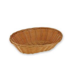BREAD BASKET OVAL 180MM NATURA P/PROP (12/144)