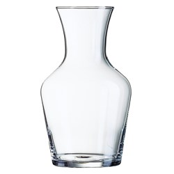 CARAFE 1LT VIN GLASS (6)