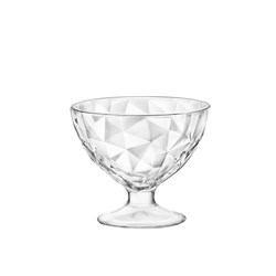 DIAMOND DESSERT BOWL FOOTED 360ML (6)