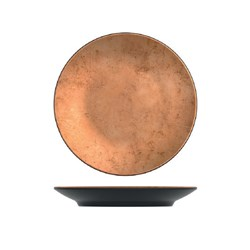 UTAH COPPER  RND PLATTER 260MM MELAMINE (6/24)
