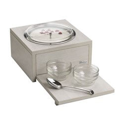 COMPACT SUPREME BOWL STATION REFRIGERATED