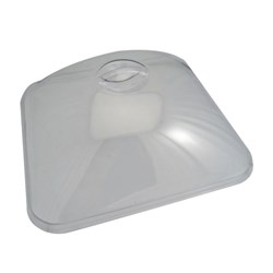 COMPACT DOME LID ACRYLIC GN 2/3