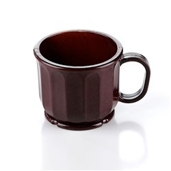 DIMENSIONS MUG 230ML BURGUNDY HIGH HEAT (48) ALADDIN