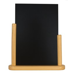 ELEGANT SML TABLE CHALK BOARD WOOD 10X15CM (10)