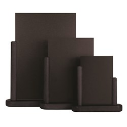 ELEGANT MED TABLE CHALK BOARD BLK WOOD 15X21CM (6)
