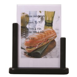 TABLE POSTER FRAME A5 BLK WOOD (6)