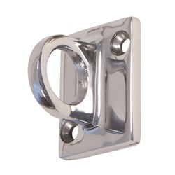 CLASSIC BARRIER ROPE WALL HOOK CHROME MOUNTING PARTS INC(5)