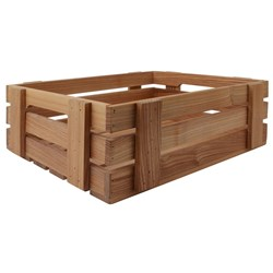 OLD FARMER MERCHANT BOX LGE 400X300X150MM ASHWOOD