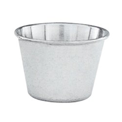 OYSTER PLATE SAUCE CUP S/S (12)