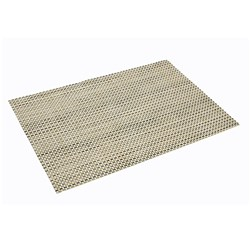 PLACEMAT WOVEN RATTAN COLOUR 450X300MM CONNOISSEUR (12)