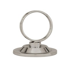 TABLE NUMBER CLIP RING SHAPE S/S 45MM HIGH (24)