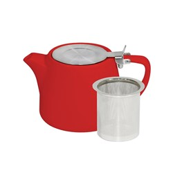 BREW CHILLI STACK TEAPOT 500ML W/- S/S INFUSER & LID (2/6)