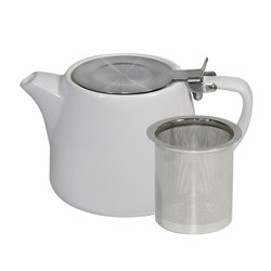 BREW WHT STACK TEAPOT 500ML W/- S/S INFUSER & LID (2/6)
