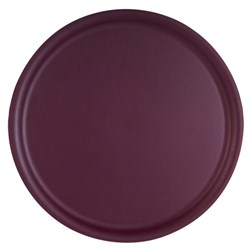 PLATEX TRAY ROUND PURPLE NON SLIP P/PROP 360MM (6)
