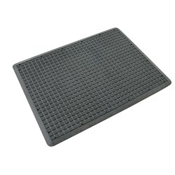 MAT AIR GRID ANTI-FATIGUE BLK 600X900MM