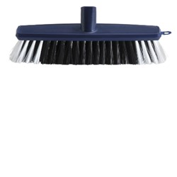BROOM HEAD 280MM HOUSEHOLD POLY FILL P/BACK (12)