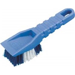 SCRUB BRUSH 60X220X60MM LONG HANDLE POLY FILL P/BACK (6)