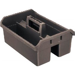 HOUSEMAID CADDY 130X400X275MM GREY PLASTIC