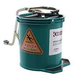 MOP BUCKET MOBILE GREEN 15L PLASTIC (2)
