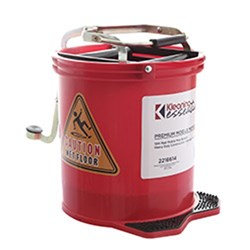 MOP BUCKET MOBILE RED 15L PLASTIC (2)