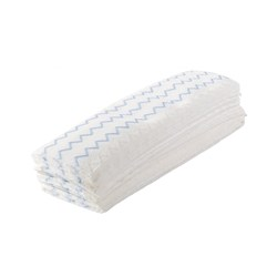 MICROFIBRE MOP DISPOSABLE 475X140MM 150/CTN HYGEN