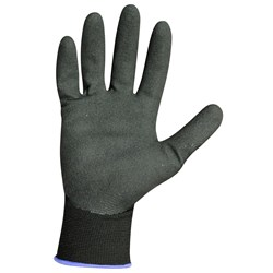 GLOVE ACTIONGRIP SML NITRILE COATED NYLON