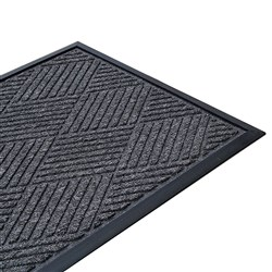 MAT DIAMOND PRESTIGE ENTRANCE CHARCOAL 600X900MM