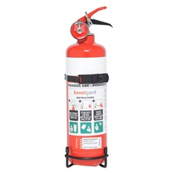 FIRE EXTINGUISHER AB(E) 1KG DRY CHEMICAL