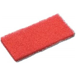 EAGER BEAVER PAD 250X100MM RED (10) LIGHT SCRUBBING