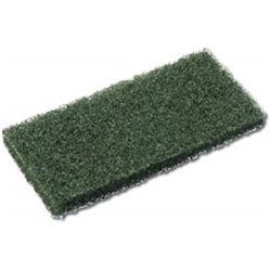 EAGER BEAVER PAD 250X100MM GREEN (10) HEAVY SCRUBBING