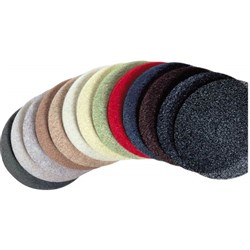 FLOOR PAD 400MM RED BUFFING (5)