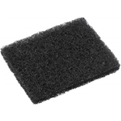 GRIDDLE PAD 150X110MM BLK #722 (60)