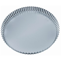 QUICHE TIN 80X18MM FLUTED LOOSE BASE