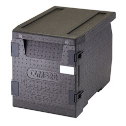 GO BOX CARRIER 60LT EPP FRONT LOADING INSULATED BLK