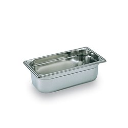 GASTRONORM PAN 1/3 SIZE 100MM 325X176MM S/S