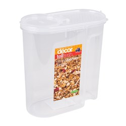 CEREAL CONTAINER 3LT AIRTIGHT PLASTIC (6)
